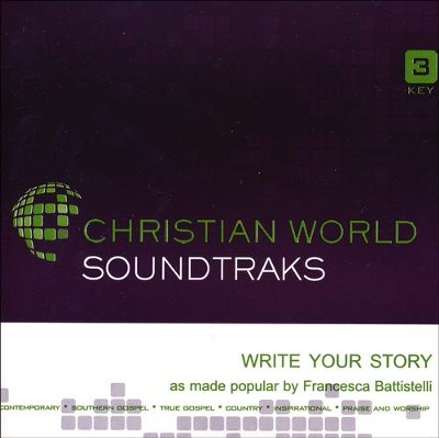 Write Your Story Acc, CD  -     By: Francesca Battistelli