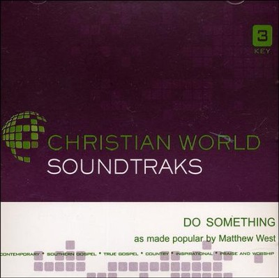Do Something Acc, CD  -     By: Matthew West