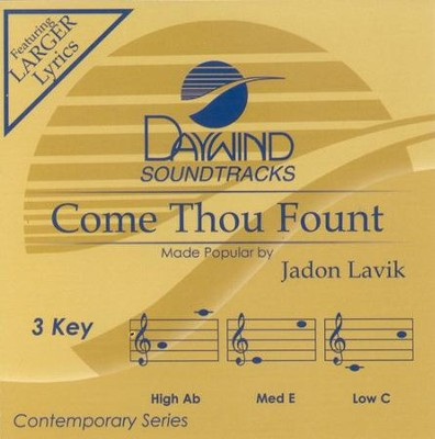 Come Thou Fount, Accompaniment CD   -     By: Jadon Lavik