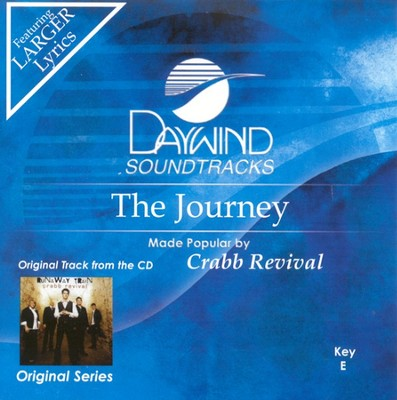 The Journey, Accompaniment CD   -     By: Crabb Revival