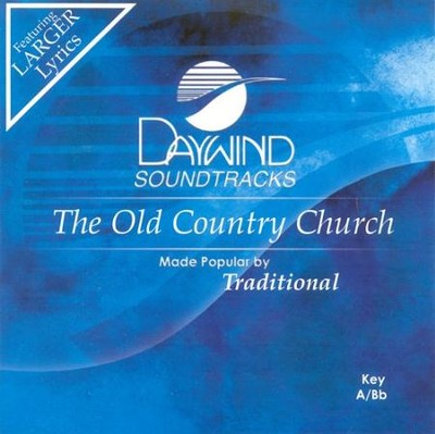 The Old Country Church, Accompaniment CD   -