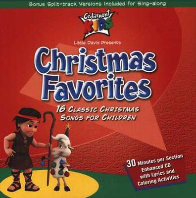 Christmas Favorites CD   -     By: Cedarmont Kids