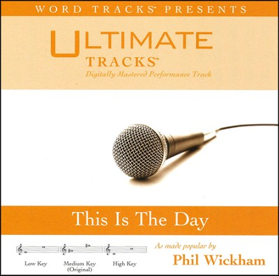 This Is The Day (High Key Performance Track w/ Background Vocals)  [Music Download] -
