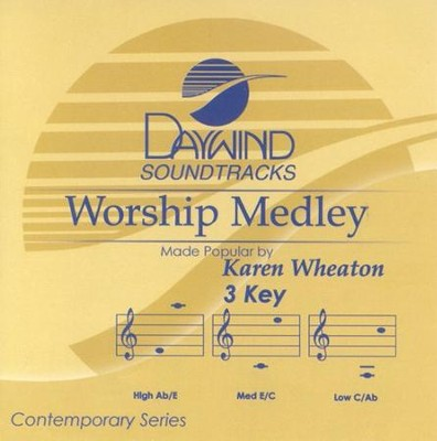 Worship Medley, Accompaniment CD   -     By: Karen Wheaton