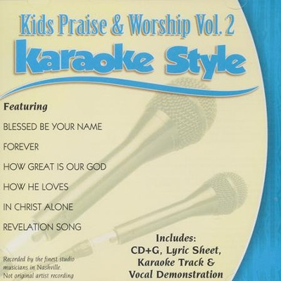 Kids Praise & Worship, Volume 2 Karaoke CD  -