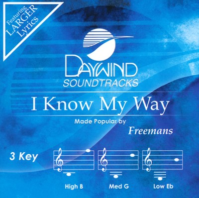 I Know My Way Acc, CD  -     By: The Freemans