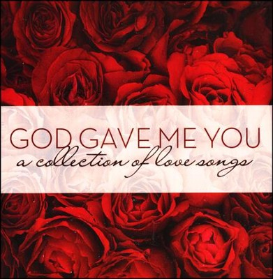 God Gave Me You wedding CD
