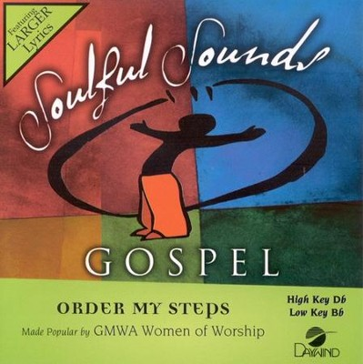 Order My Steps, Accompaniment CD     -     By: GMWA Women of Worship