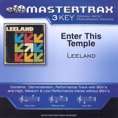 Enter This Temple, Accompaniment CD   -     By: Leeland