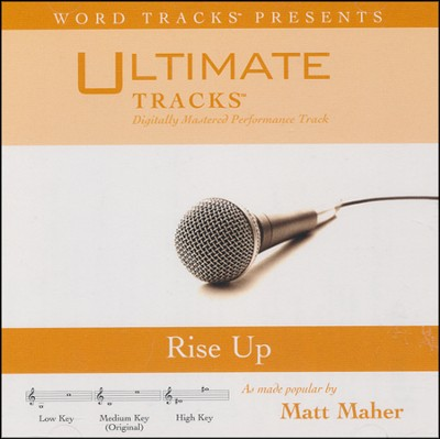 Rise Up (Medium Key Performance Track w/ Background Vocals)  [Music Download] -