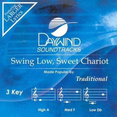 Swing Low, Sweet Chariot, Accompaniment CD   -