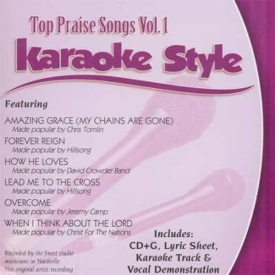 Top Praise Songs Volume 1, Karaoke CD   -     By: Various Artists