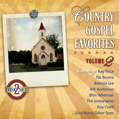 Country Gospels Favorites, Volume 2--2 CDs   -
