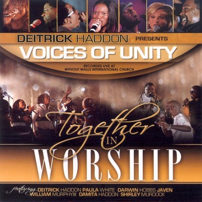 Together In Worship CD   -     By: Voices of Unity