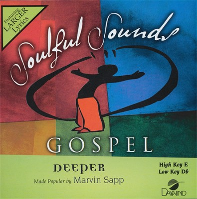 Deeper Acc, CD  -     By: Marvin Sapp