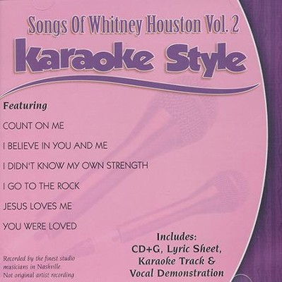Songs of Whitney Houston, Volume 2   -