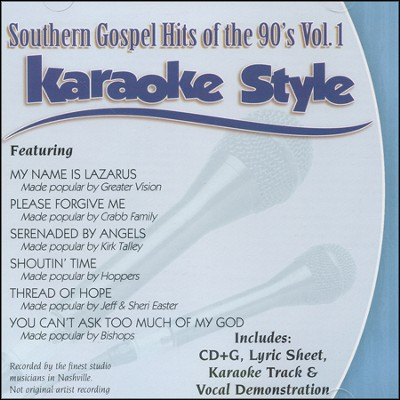 Southern Gospel Hits of the 90's, Vol. 1   -     By: Various