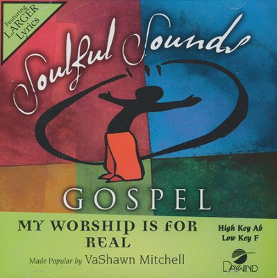 My Worship is For Real Acc, CD  -     By: Vashawn Mitchell