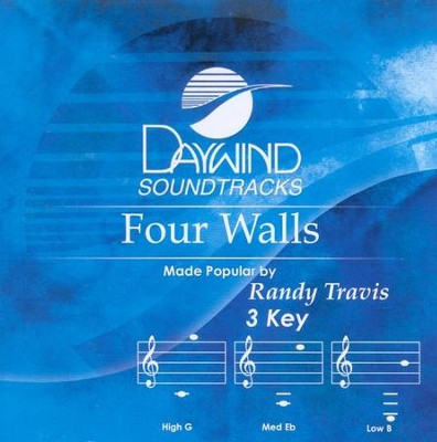 Four Walls, Accompaniment CD   -     By: Randy Travis