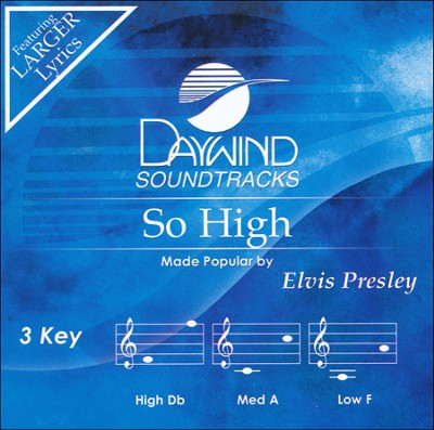 So High, Acc CD   -     By: Elvis Presley