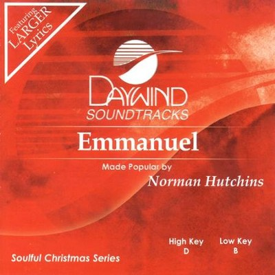 Emmanuel, Accompaniment CD   -     By: Norman Hutchins