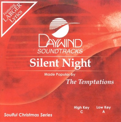Silent Night, Accompaniment CD   -     By: Temptations