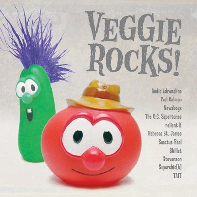 Hairbrush Song, The (Veggie Rocks Album Version)  [Music Download] -     By: Audio Adrenaline