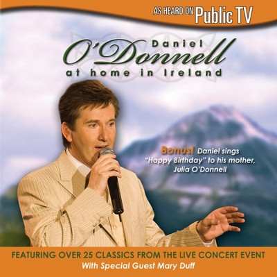 At Home In Ireland CD   -     By: Daniel O'Donnell