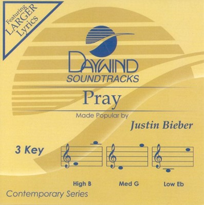 Pray, Accompaniment CD   -     By: Justin Bieber
