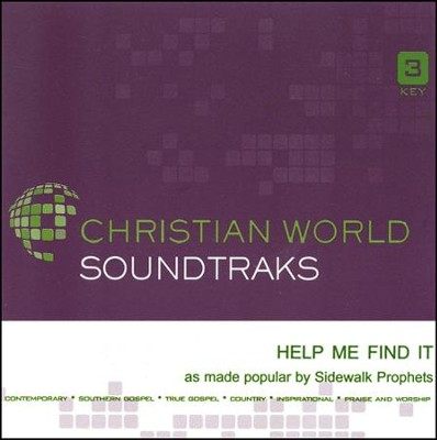 Help Me Find It Acc, CD  -     By: Sidewalk Prophets