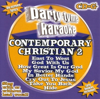 Party Tyme Karaoke: Contemporary Christian 2 (8+8 Track Version) CD  -