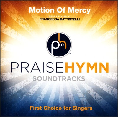 Motion Of Mercy (Medium Without Background Vocals)  [Music Download] -