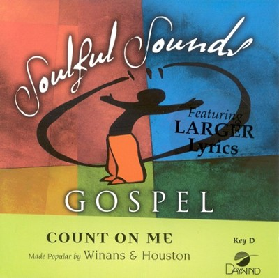 Count On Me, Accompaniment CD   -     By: Whitney Houston, Cece Winans