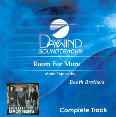 Room For More, Complete CD Tracks   -     By: The Booth Brothers