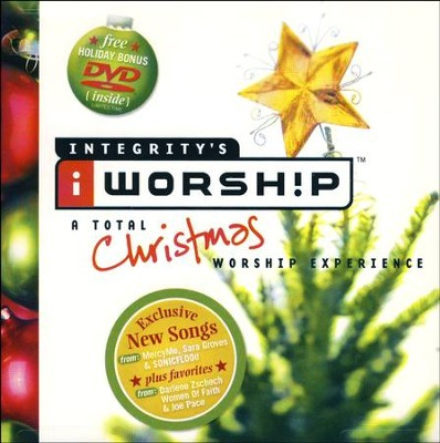 iWorship: A Total Christmas Worship Experience, Compact Disc [CD]  - Slightly Imperfect  -