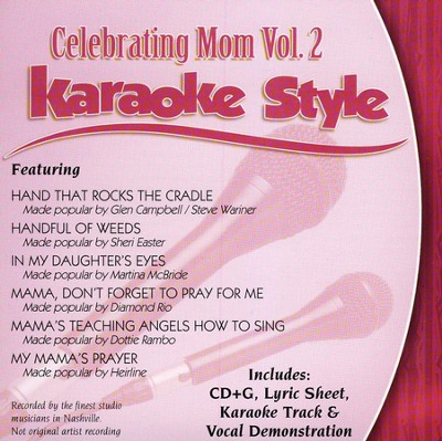 Celebrating Mom, Volume 2, Karaoke Style CD   -