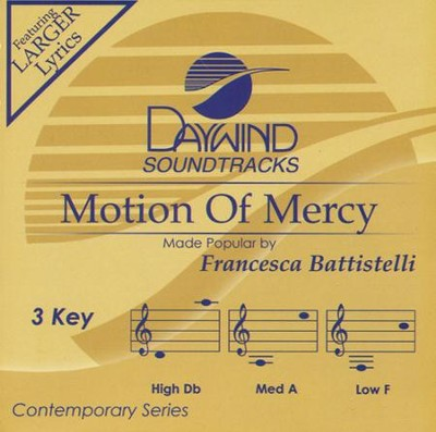 Motion Of Mercy, Acc CD   -     By: Francesca Ballistelli