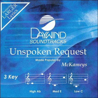 Unspoken Request Acc, CD  -     By: The McKameys