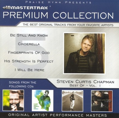Best Of Collection, Accompaniment CD   -     By: Steven Curtis Chapman