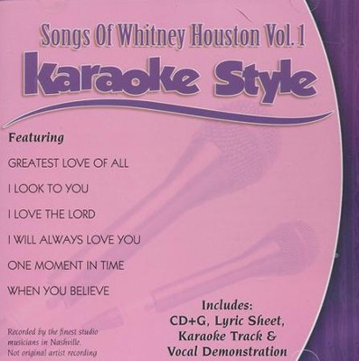 Songs of Whitney Houston, Volume 1   -