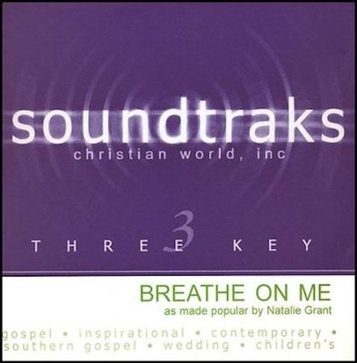 Breathe On Me, Acc CD   -     By: Natalie Grant