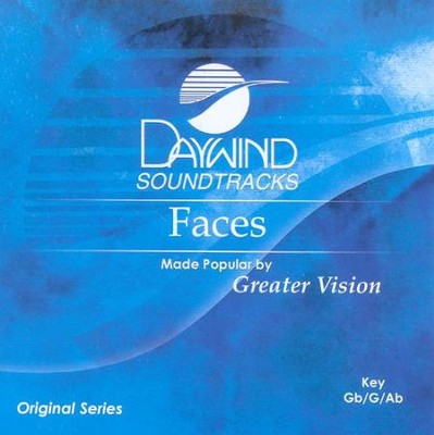 Faces, Accompaniment CD   -     By: Greater Vision
