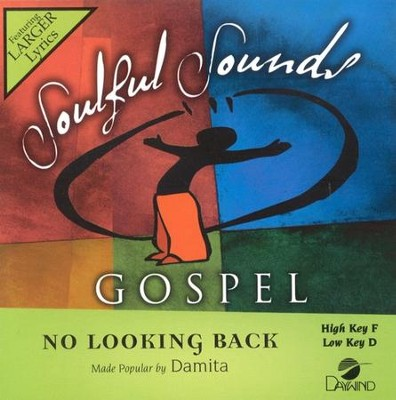 No Looking Back, Accompaniment CD   -     By: Damita