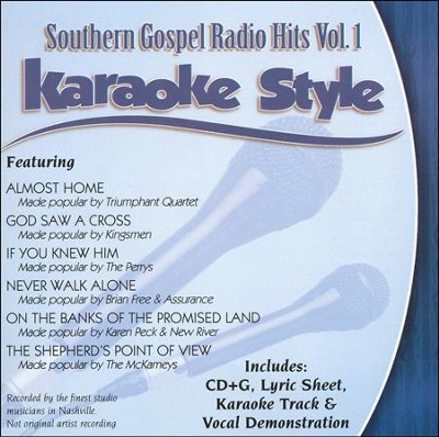 Southern Gospel Radio Hits, Volume 1 Karaoke CD  -