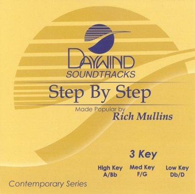 Step By Step, Accompaniment CD   -     By: Rich Mullins