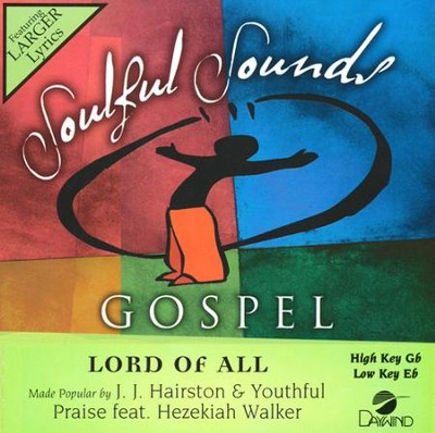 Lord Of All Acc, CD  -     By: Hezekiah Walker