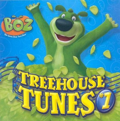 Boz the Green Bear Next Door: Treehouse Tunes #1 CD   -
