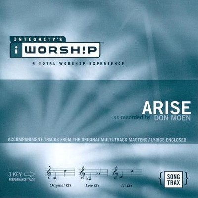 Arise, Accompaniment CD   -     By: Don Moen