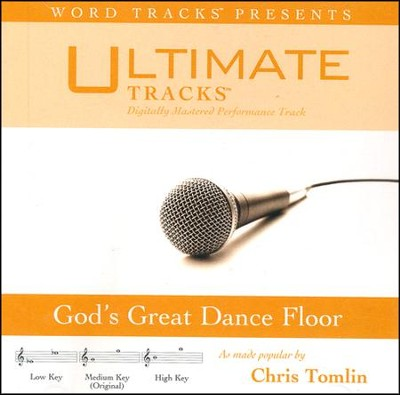 God's Great Dance Floor (Medium Key Performance Track With Background Vocals)  [Music Download] -