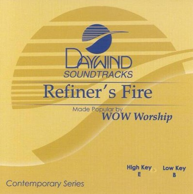 Refiner's Fire, Accompaniment CD   -     By: WOW Worship